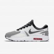 Nike air max zero essential para hombre gris oscuro/blanco cumbre/carmesí brillante/gris oscuro_082