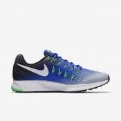 Nike air zoom pegasus 33 para hombre azul extraordinario/gris lobo/negro/blanco_088
