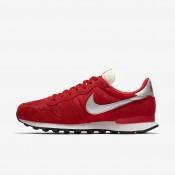 Nike internationalist para hombre rojo universitario/blanco cumbre/negro/plata metalizado_167