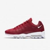 Nike air max 95 ultra essential para hombre rojo gimnasio/blanco/blanco_189