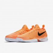 Nike court air zoom ultra react clay para hombre tarta/blanco/resplandor crepuscular/negro_459
