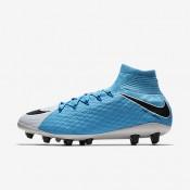 Nike hypervenom phatal 3 df ag_pro para hombre blanco/azul foto/azul cloro/negro_587