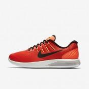 Nike lunarglide 8 para hombre naranja máximo/hipernaranja/lima eléctrico/negro_769