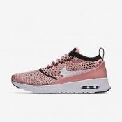 Nike air max thea flyknit para mujer melón brillante/negro/blanco_025