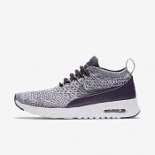 Nike air max thea flyknit para mujer pasa oscuro/blanco/gris pálido/pasa oscuro_030