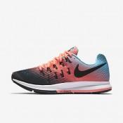 Nike air zoom pegasus 33 para mujer negro/lava resplandor/azul polarizado/negro_076