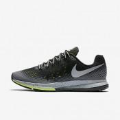 Nike air zoom pegasus 33 shield para mujer negro/gris oscuro/sigilo/plata metalizado_151