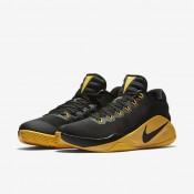 Nike hyperdunk low unisex negro/gris oscuro/oro universitario_062