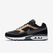 Nike air max bw premium para hombre negro/tostado vachetta/blanco/gris oscuro_233
