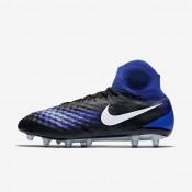 Nike magista obra ii ag_pro para hombre negro/azul extraordinario/aluminio/blanco_670