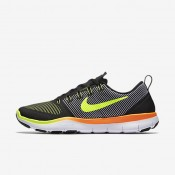 Nike free train versatility para hombre negro/naranja total/voltio_793
