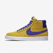 Nike sb blazer mid para hombre amarillo tour/blanco/noche intenso_840