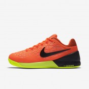 Nike court zoom cage 2 clay para hombre hipernaranja/lava resplandor/voltio/negro_844