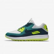 Nike air zoom 90 it para hombre platino puro/azul verdoso río/voltio/turquesa medianoche_851