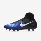 Nike magista orden ii fg para hombre negro/azul extraordinario/aluminio/blanco_856