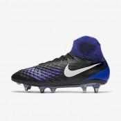 Nike magista obra ii sg_pro para hombre negro/azul extraordinario/aluminio/blanco_864