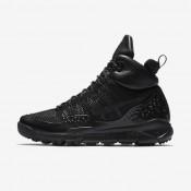 Nike lupinek flyknit para hombre negro/antracita/negro_890