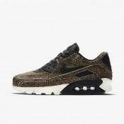 Nike air max 90 lx para mujer marrón/negro/vela/negro_132