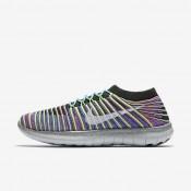 Nike free rn motion flyknit para mujer negro/azul carrera/rosa intenso/blanco_149