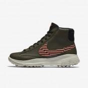 Nike blazer para mujer caqui militar/lava resplandor/hueso claro/negro_196