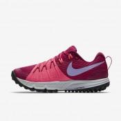 Nike air zoom wildhorse 4 para mujer fucsia deportivo/rosa carrera/baya genuino/hortensias_223