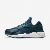 Nike air huarache se para mujer mar oscuro metálico/azul verdoso lavado/blanco cumbre/turquesa medianoche_238
