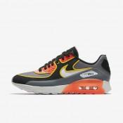 Nike air max 90 ultra 2.0 si para mujer gris azulado/negro/carmesí total/hueso claro_250