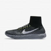 Nike lunarepic flyknit shield para mujer negro/gris oscuro/sigilo/plata metalizado_341