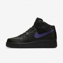 Nike Air Force 1 Mid '07 Men's Shoe Black/Court Purple