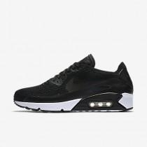 Nike air max 90 ultra 2.0 flyknit para hombre negro/negro/blanco/negro_005
