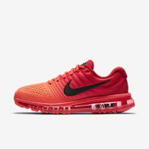 Nike air max 2017 para hombre carmesí brillante/rojo universitario/negro_017