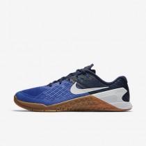 Nike metcon 3 para hombre azul extraordinario/azul binario/marrón medio goma/blanco_049