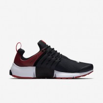 Nike air presto essential para hombre negro/blanco/rojo gimnasio_053