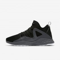 Nike jordan formula 23 para hombre negro/gris oscuro/blanco/negro_078