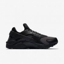 Nike air huarache para hombre negro/negro/gris oscuro_122