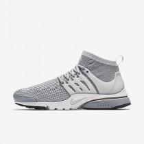 Nike air presto ultra flyknit para hombre gris lobo/blanco/negro/platino puro_135