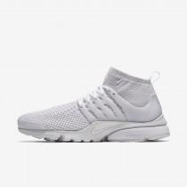 Nike air presto ultra flyknit para hombre blanco/blanco/carmesí total/blanco_136