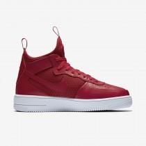 Nike air force 1 ultraforce mid para hombre rojo gimnasio/blanco/rojo gimnasio/rojo gimnasio_183