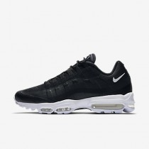 Nike air max 95 ultra essential para hombre negro/blanco/blanco_190