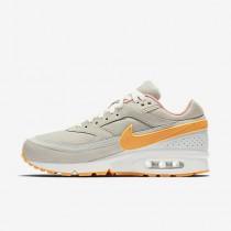 Nike air max bw premium para hombre phantom/hueso claro/naranja ártico/amarillo goma_308