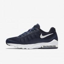 Nike air max invigor para hombre azul marino medianoche/blanco_316