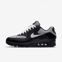 Nike air max 90 essential para hombre negro/blanco_320