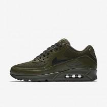 Nike air max 90 essential para hombre caqui militar/negro_322