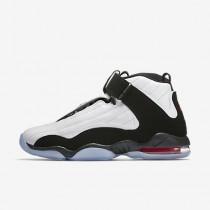 Nike air penny iv para hombre blanco/rojo verdadero/negro_342