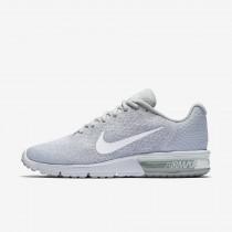 Nike air max sequent 2 para hombre platino puro/gris lobo/platino metalizado/blanco_357