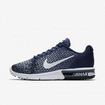 Nike air max sequent 2 para hombre azul binario/azul luna/azul militar claro/blanco_358