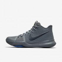 Nike kyrie 3 para hombre gris azulado/puro/azul polarizado/azul marino medianoche_384