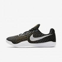 Nike kobe mamba instinct para hombre negro/gris lobo/oro metalizado/blanco_397