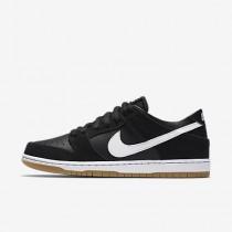 Nike sb zoom dunk low pro para hombre negro/marrón claro goma/blanco_439