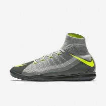 Nike hypervenomx proximo ii dynamic fit ic para hombre negro/gris oscuro/gris lobo/voltio_546